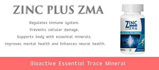 Essential Trace Mineral For Immunity - Zinc Plus ZMA