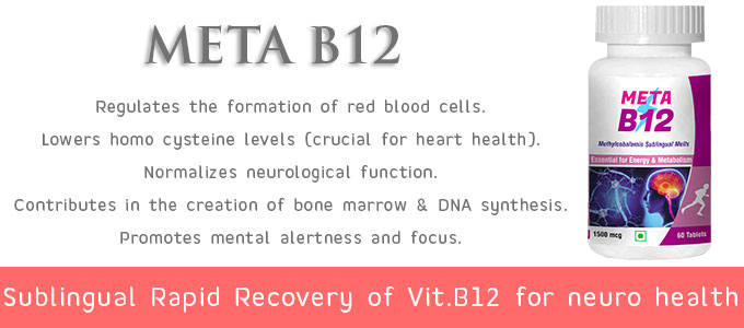 Sublingual Melts Vitamin B12 for Brain and Neuro Function
